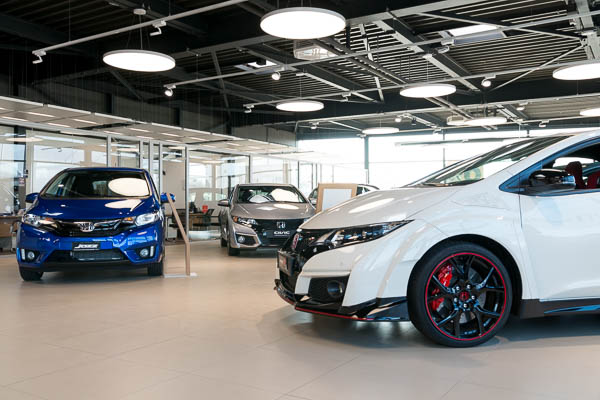 Honda Vernier - Showroom